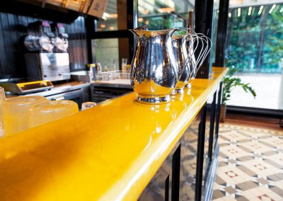Dishoom Restaurant – Safran -  London (UK)