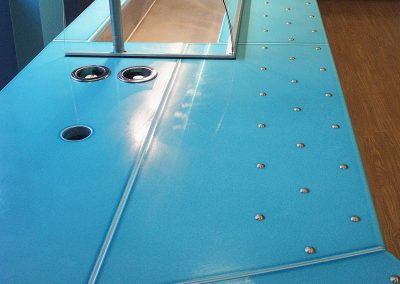 Servery counter - Custom colour - London (UK)