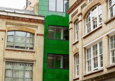 Underwood Street Cladding - Custom colour - London (UK)