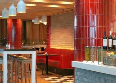 Café Rouge Restaurant - Rouge cardinal - London (UK)