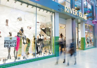River Island Shop - Custom colours - London (UK)