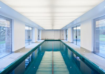 Private swimming pool - Custom colour - Hampshire (UK)