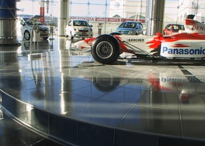 Toyota Showroom - Custom colour - Dubaï (UAE)