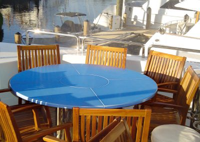 Table design for Private Yacht - Azur - Florida (US)